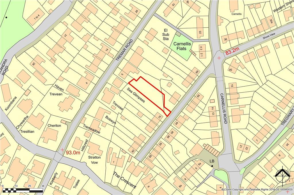 Image of Land Adjacent<br />Trelawney Avenue<br />St Ives<br />Cornwall<br />TR26 1BS